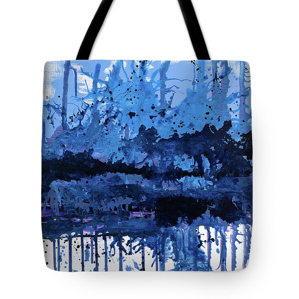 Tote Bag featuring the painting The Stronger Pull by Annie Young Arts