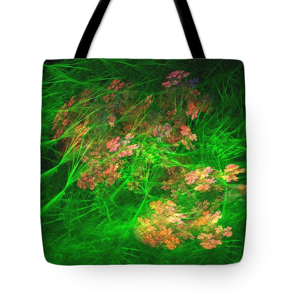 Tote Bag featuring the digital art The Struggle by Richard Ortolano