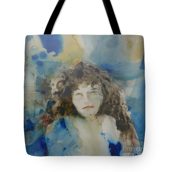 The Student Tote Bag by Donna Acheson-Juillet