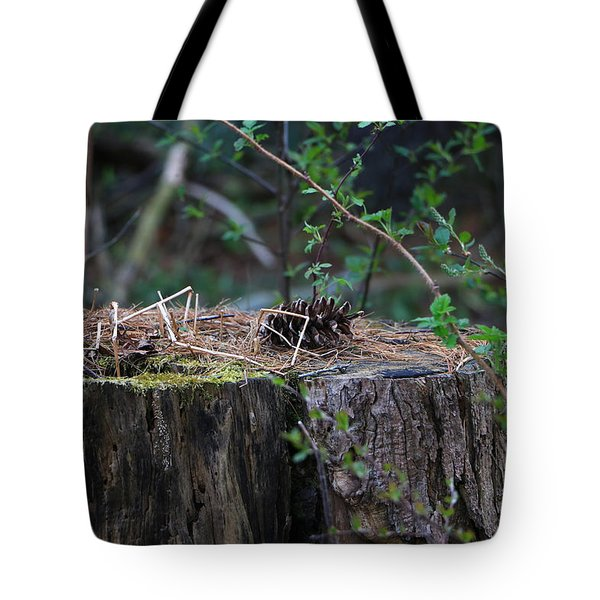 The Stump Tote Bag