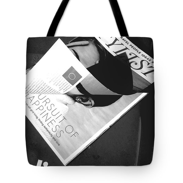 Tote Bag featuring the photograph The Stylist by Rebecca Harman