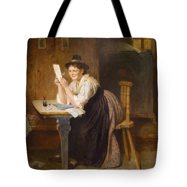 The Successful Letter Tote Bag