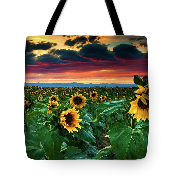 The Summer Winds Tote Bag