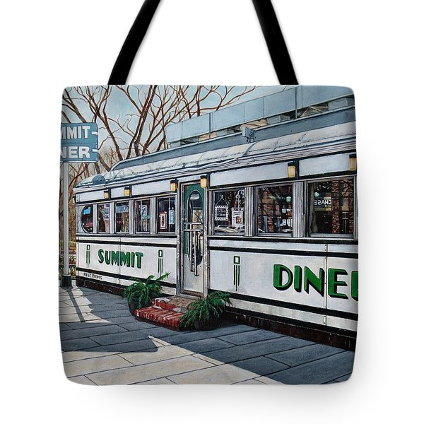 The Summit Diner Tote Bag
