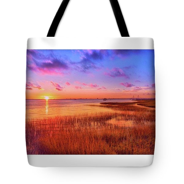 The Sun Finally Came Out Over Tote Bag