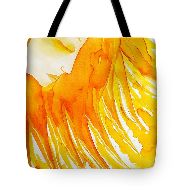 The Sun Goddess Tote Bag by Jean Fry