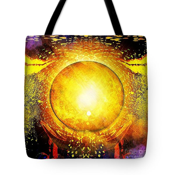 The Sun In Your Hands Tote Bag