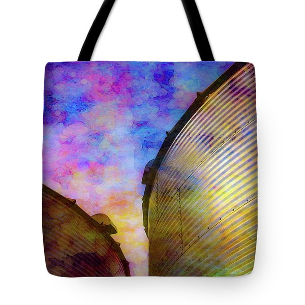The Sun Sets The Stars Appear 4358 Idp_2 Tote Bag