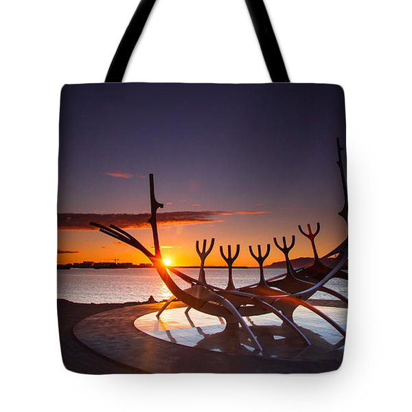 The Sun Voyager Tote Bag