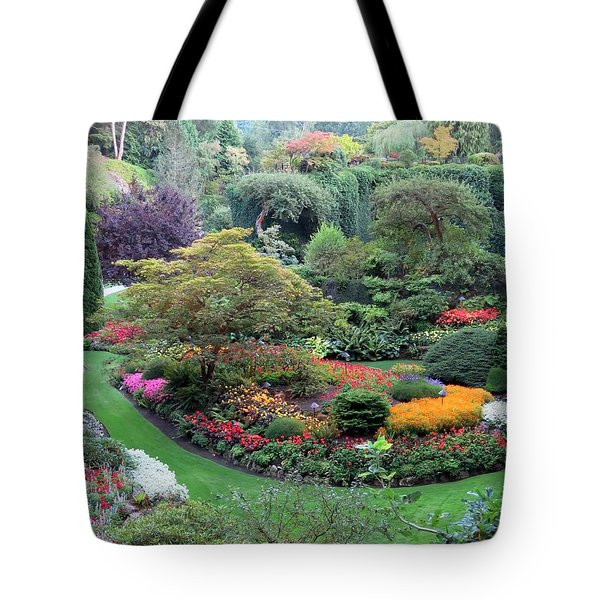 The Sunken Garden Tote Bag