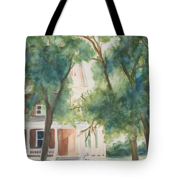 The Sunlit Porch Tote Bag