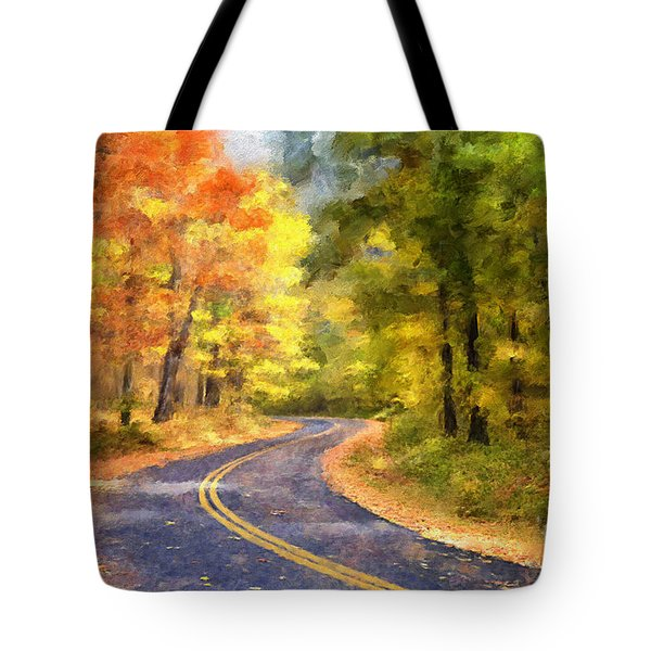 The Sunny Side Of The Street Tote Bag