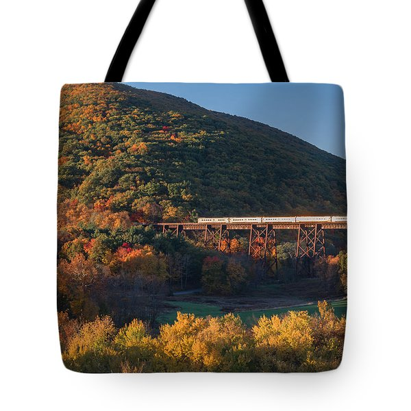 The Sunrise Express Tote Bag