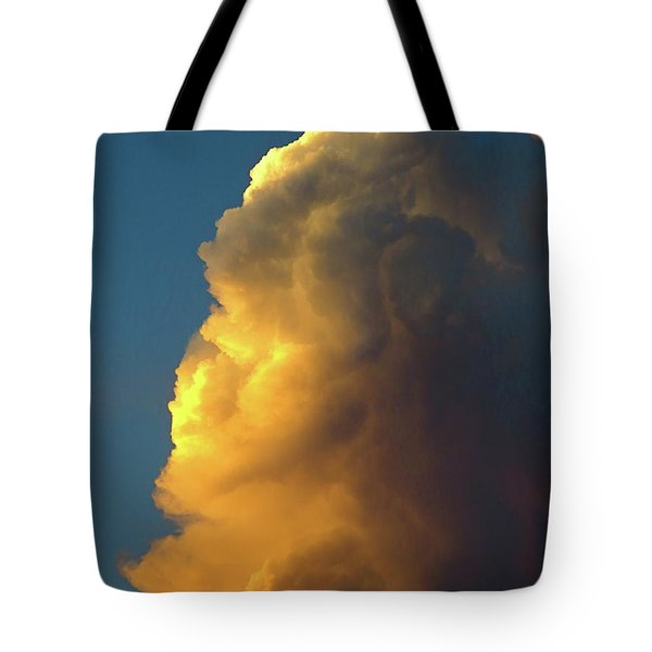 The Sunset Cloud Tote Bag