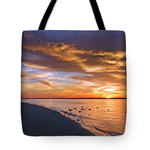 The Sunset Movie Tote Bag