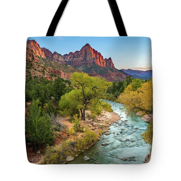 The Sunset Watchman Tote Bag