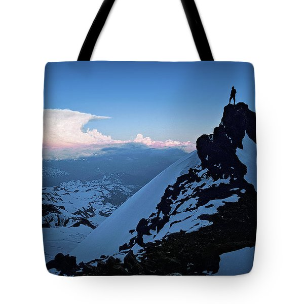 The Sunset Wave Tote Bag
