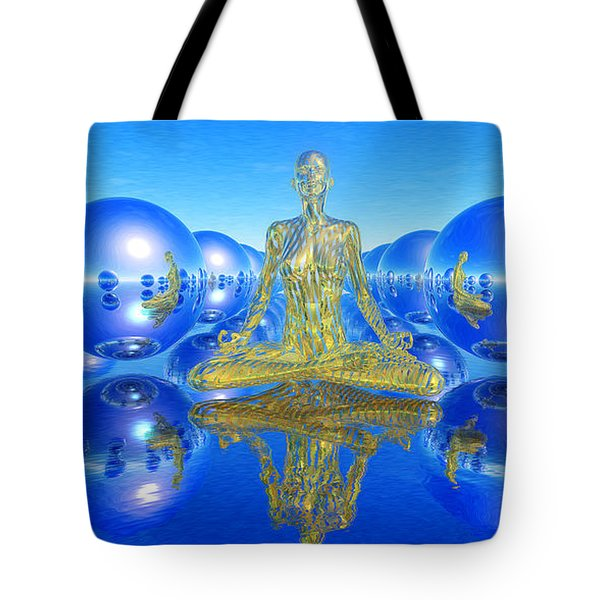 The Superficial Illusion Of Duality Tote Bag