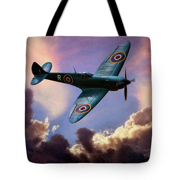 The Supermarine Spitfire Tote Bag