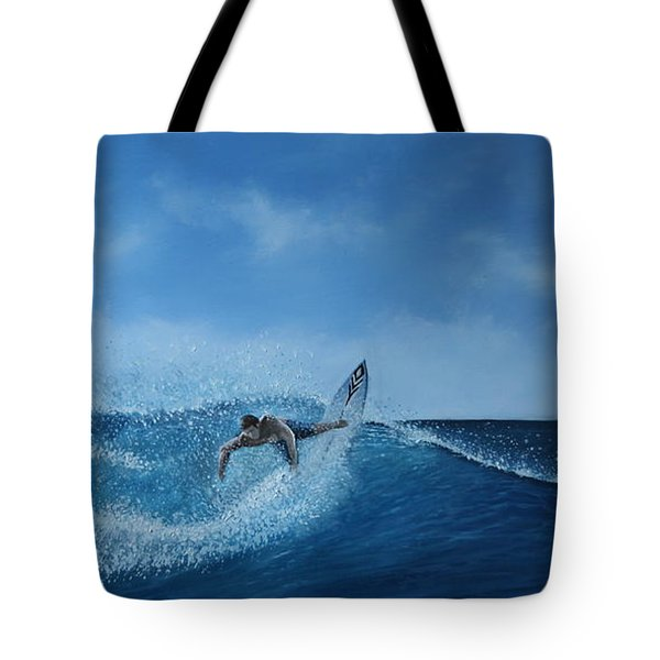 The Surfer Tote Bag by Paul Newcastle