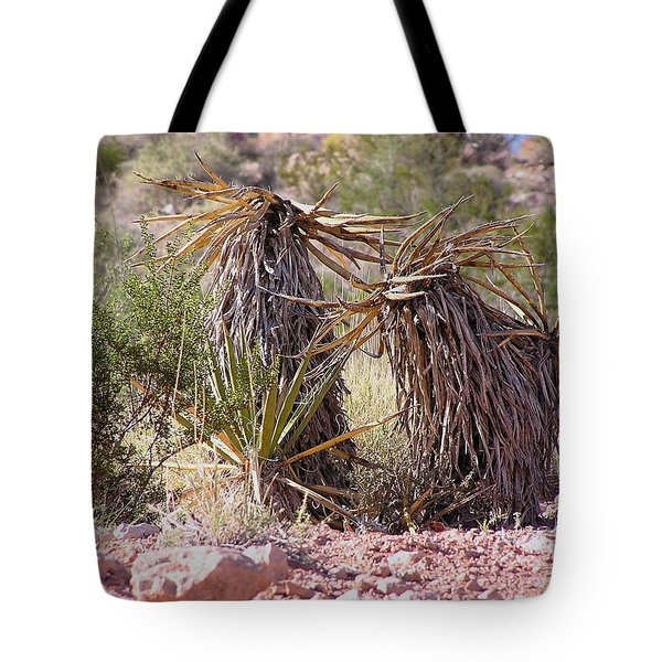 The Survivors At Red Rock Tote Bag