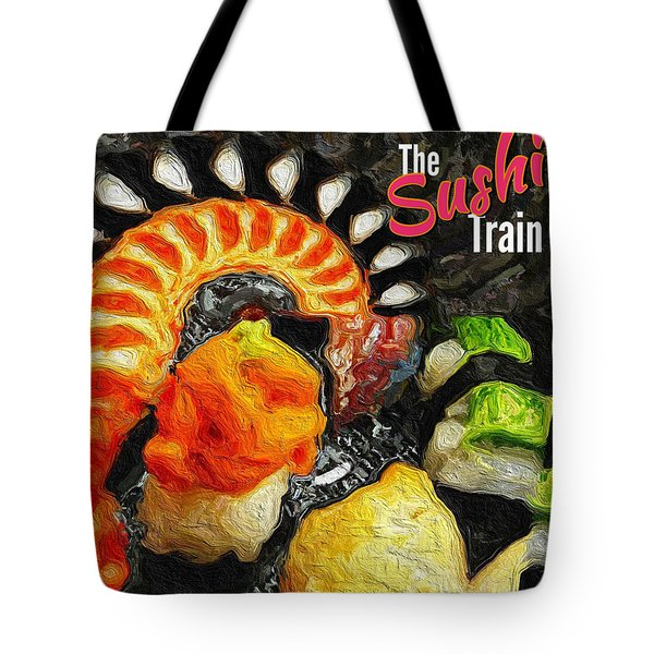 The Sushi Train Tote Bag by ISAW Gallery