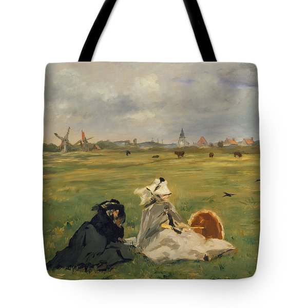 The Swallows Tote Bag by Edouard Manet