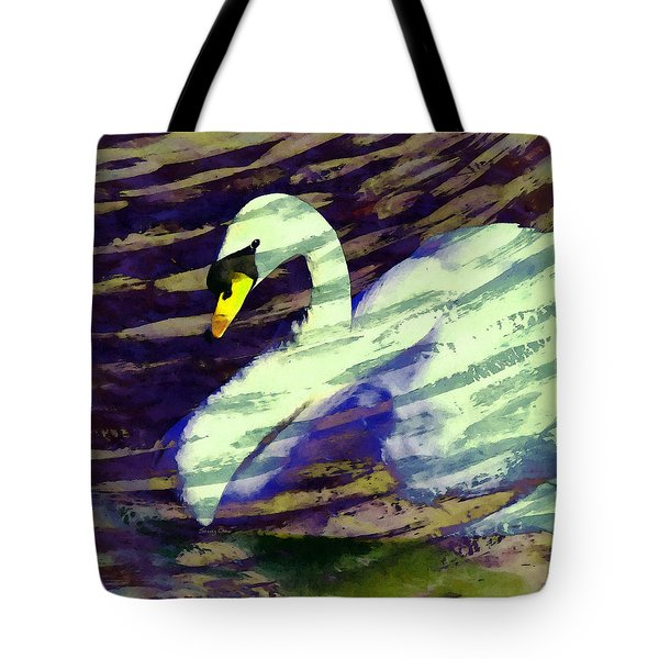 Autumn Swan  Tote Bag