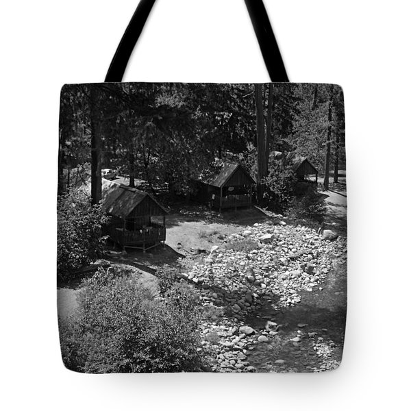 Tote Bag featuring the photograph The Swimming Hole 1976 by Ben Upham III