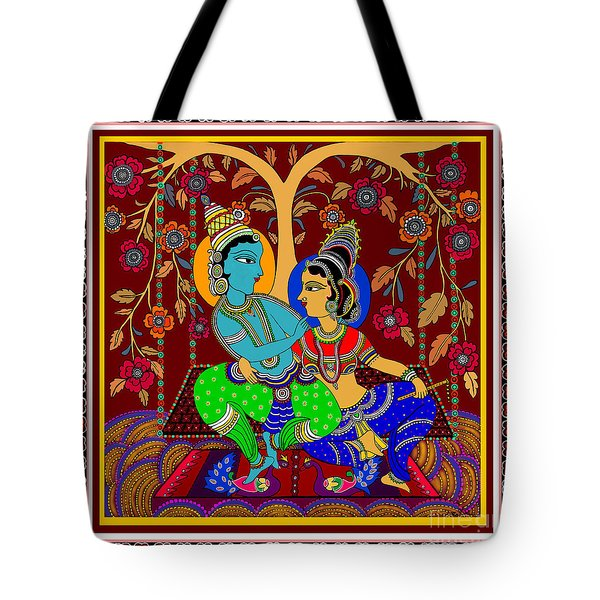 The Swinging Passions                         Tote Bag by Latha Gokuldas Panicker