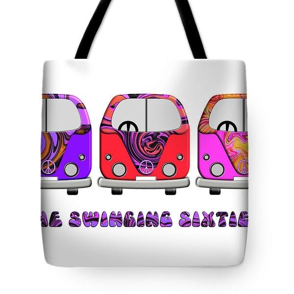 The Swinging Sixties Tote Bag