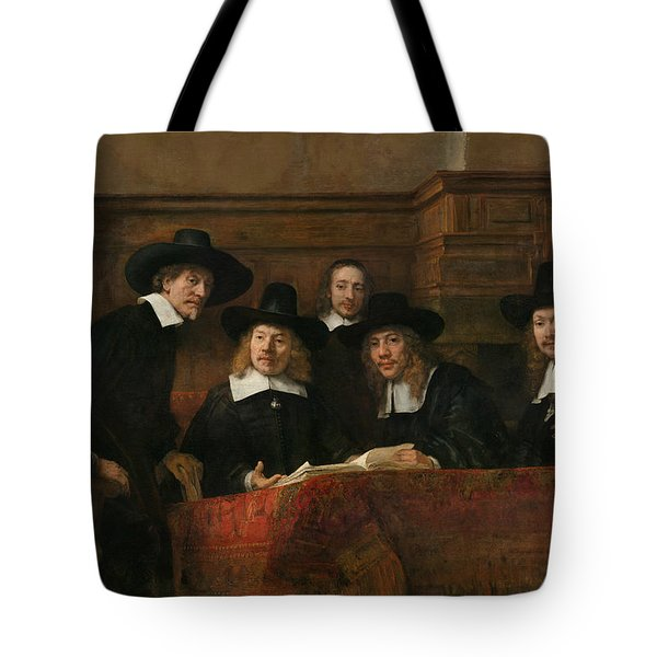 The Syndics Of The Amsterdam Drapers' Guild Tote Bag
