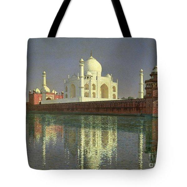 The Taj Mahal Tote Bag by Vasili Vasilievich Vereshchagin