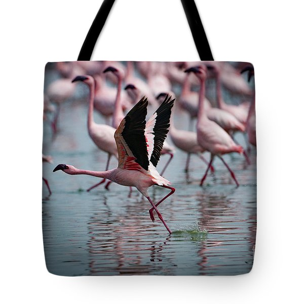 The Take Off Tote Bag