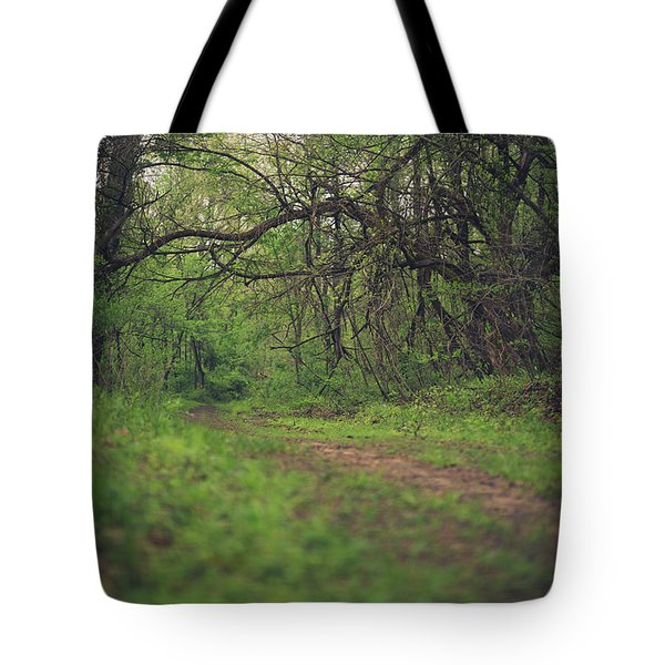 Tote Bag featuring the photograph The Taking Tree by Shane Holsclaw