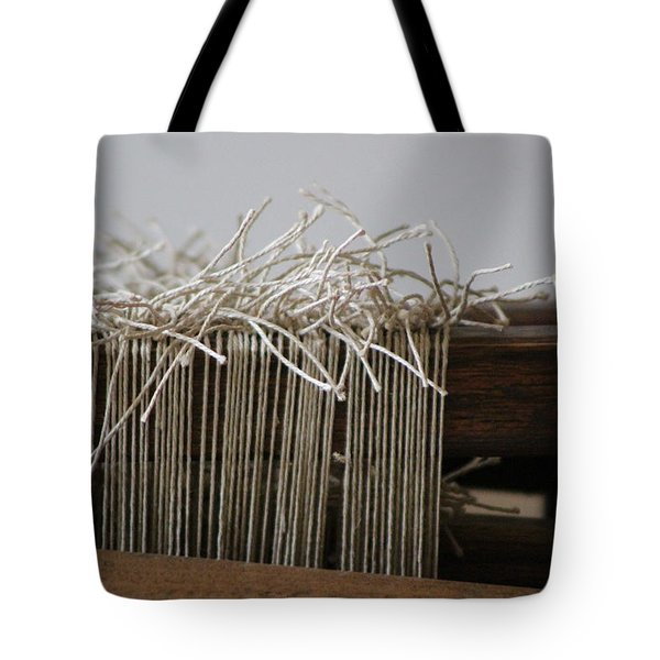 The Tales We Weave In Sepia Photograph Tote Bag