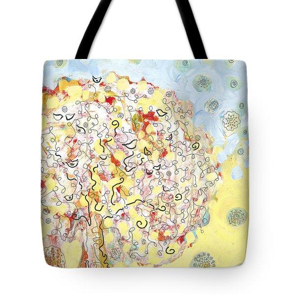 The Talking Tree Tote Bag
