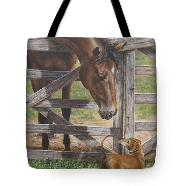 The Tall And Short Of It Tote Bag