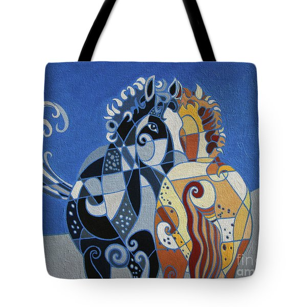 The Tao Of Friendship Tote Bag