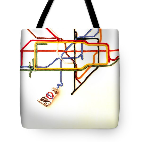 The Tate Gallery - National Galleries And Museums - London Underground - Retro Travel Poster Tote Bag
