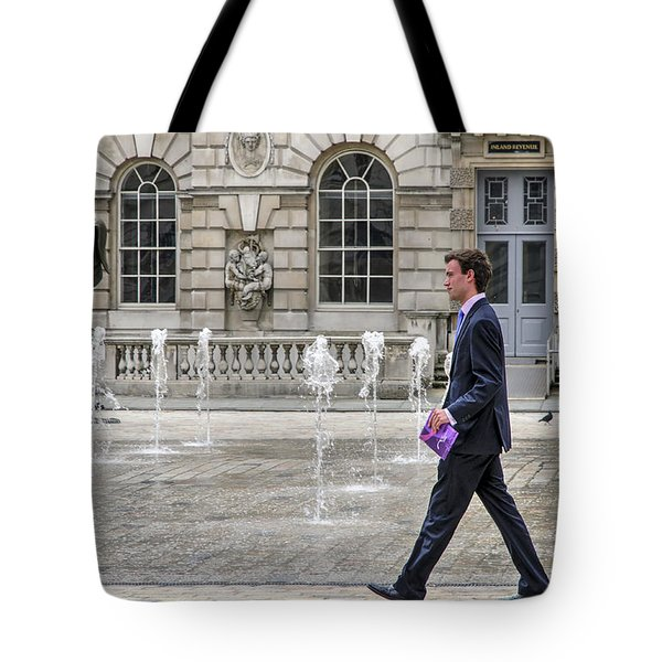 The Tax Man Tote Bag by Keith Armstrong