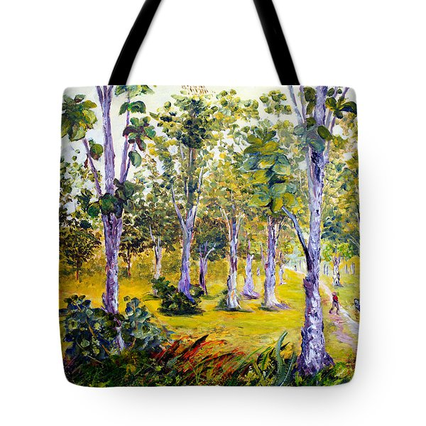 The Teak Garden Tote Bag