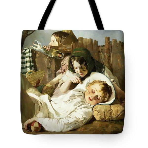 The Tease Tote Bag by Robert Hannah