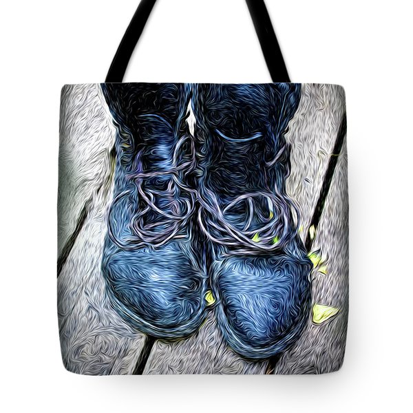 Tote Bag featuring the photograph The Teaser Cat Boots by Craig J Satterlee