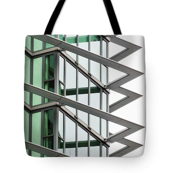 Tote Bag featuring the photograph The Teeth by Chris Dutton