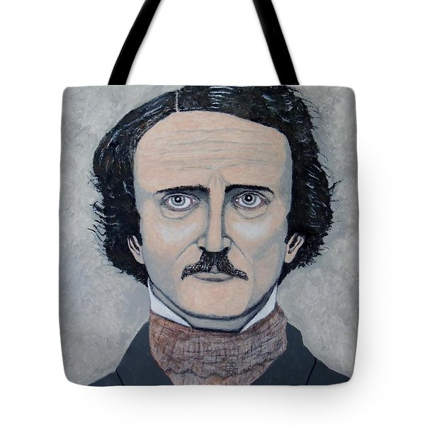 The Telltale Heart Of Edgar Allen Poe. Tote Bag by Ken Zabel