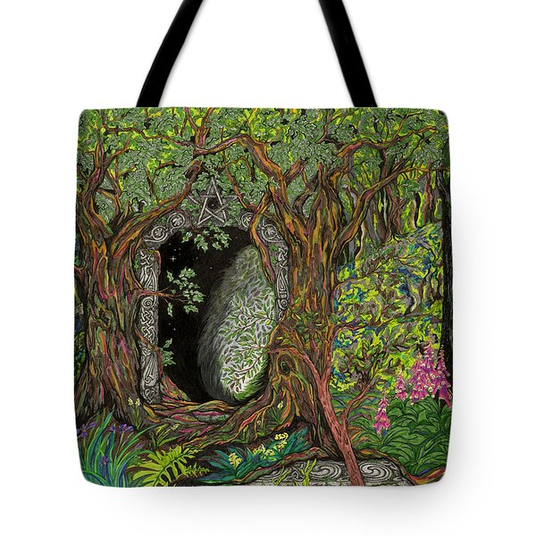 The Temple Of Math Tote Bag