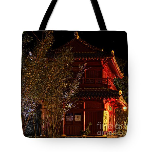 The Temple Tote Bag