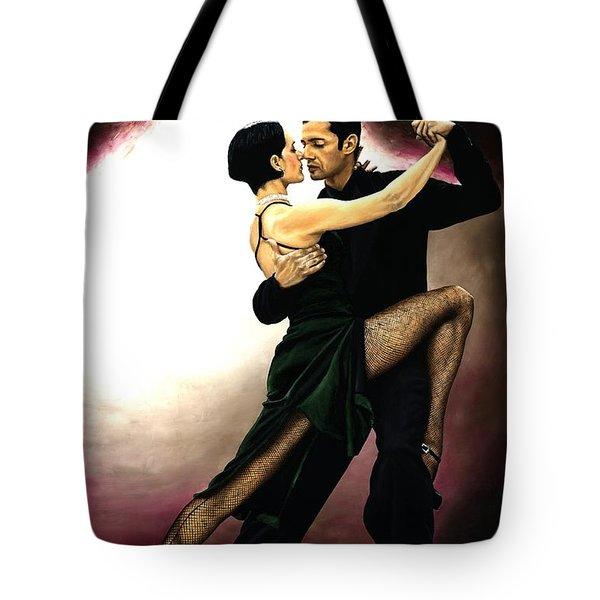 The Temptation Of Tango Tote Bag