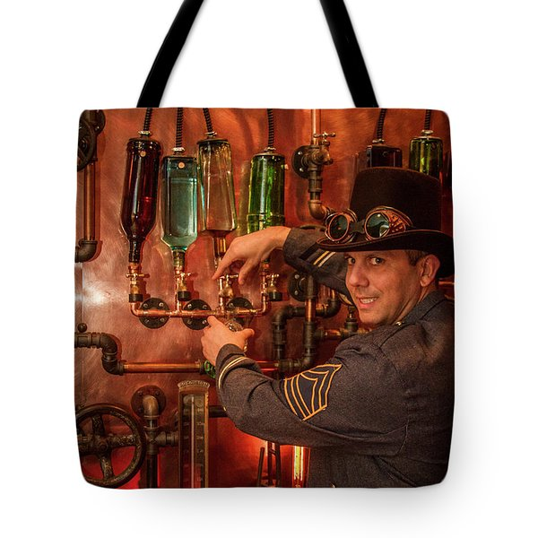 The Tender Steampunk Interior Design 7 Atlanta Man Cave Bar Art Tote Bag